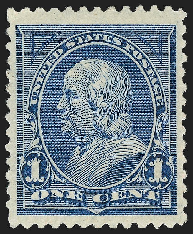 Prices of US Stamp Scott Catalog #247: 1894 1c Franklin. Robert Siegel Auction Galleries, Dec 2012, Sale 1037, Lot 1864