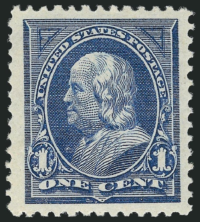 Cost of US Stamps Scott #247 - 1c 1894 Franklin. Robert Siegel Auction Galleries, Nov 2013, Sale 1057, Lot 835