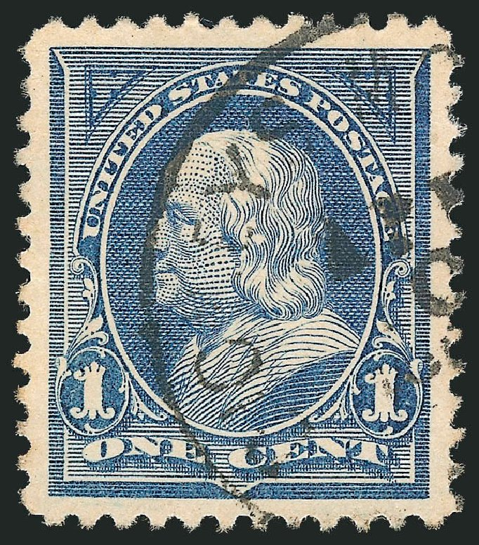 US Stamp Prices Scott # 247: 1c 1894 Franklin. Robert Siegel Auction Galleries, Oct 2012, Sale 1032, Lot 3363