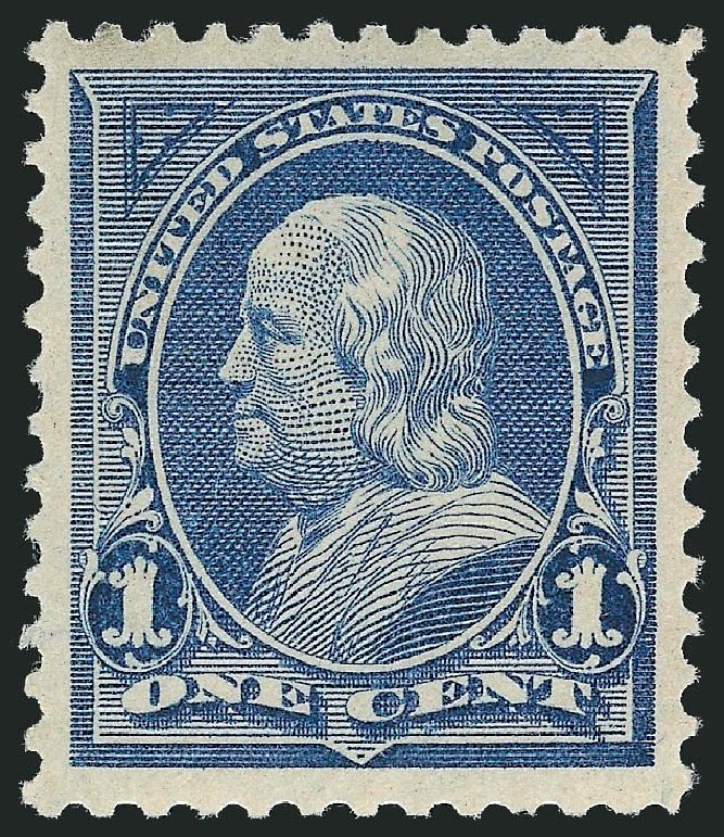 Prices of US Stamp Scott Catalog # 247: 1c 1894 Franklin. Robert Siegel Auction Galleries, Nov 2013, Sale 1057, Lot 836