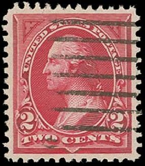Prices of US Stamps Scott 249 - 1894 2c Washington. H.R. Harmer, Oct 2014, Sale 3006, Lot 1280