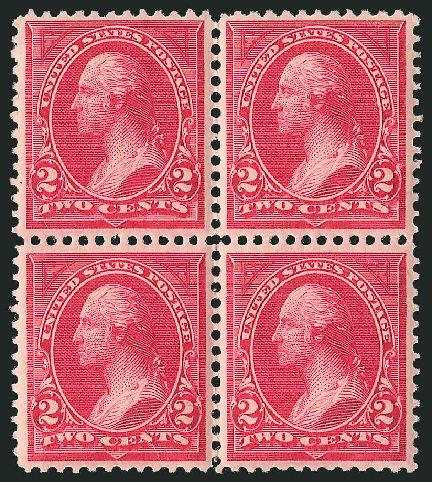 Price of US Stamp Scott Catalog 249 - 1894 2c Washington. Robert Siegel Auction Galleries, Apr 2015, Sale 1096, Lot 440