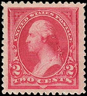 Values of US Stamp Scott Catalogue #249: 1894 2c Washington. Regency-Superior, Nov 2014, Sale 108, Lot 494