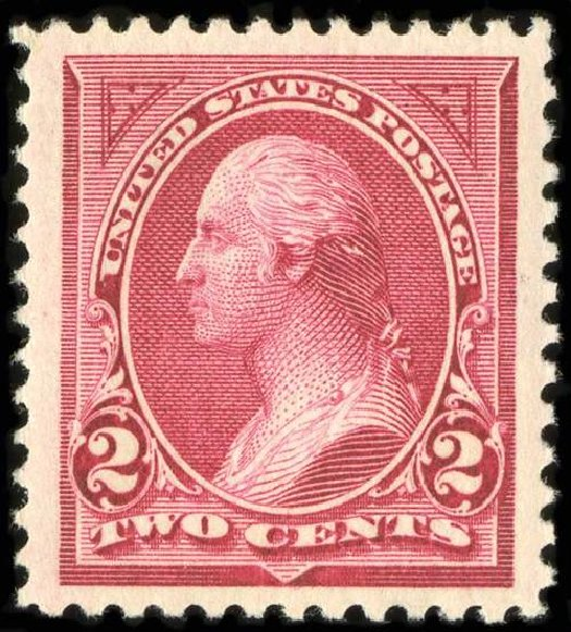 Value of US Stamps Scott Catalogue 249: 1894 2c Washington. Spink Shreves Galleries, Jul 2015, Sale 151, Lot 202