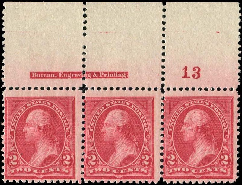 Value of US Stamps Scott Catalog 249 - 2c 1894 Washington. Regency-Superior, Nov 2014, Sale 108, Lot 493