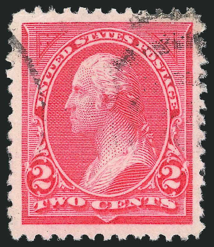 Price of US Stamp Scott Cat. 250 - 1894 2c Washington. Robert Siegel Auction Galleries, Oct 2012, Sale 1032, Lot 3367