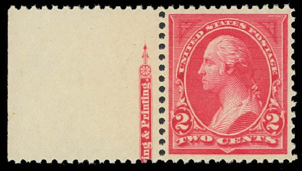 Cost of US Stamps Scott 250: 1894 2c Washington. Daniel Kelleher Auctions, Oct 2012, Sale 632, Lot 1159
