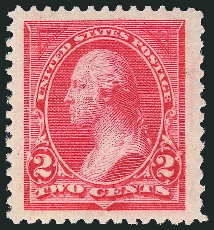 US Stamp Value Scott Catalog # 250: 2c 1894 Washington. Robert Siegel Auction Galleries, Nov 2012, Sale 1034, Lot 230