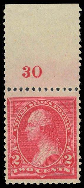 Value of US Stamps Scott #250: 1894 2c Washington. Daniel Kelleher Auctions, Oct 2012, Sale 632, Lot 1161