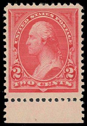 Price of US Stamps Scott Catalog # 250: 2c 1894 Washington. Daniel Kelleher Auctions, Jan 2012, Sale 628, Lot 375