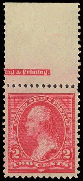 Prices of US Stamps Scott # 250: 1894 2c Washington. Daniel Kelleher Auctions, Aug 2012, Sale 631, Lot 945