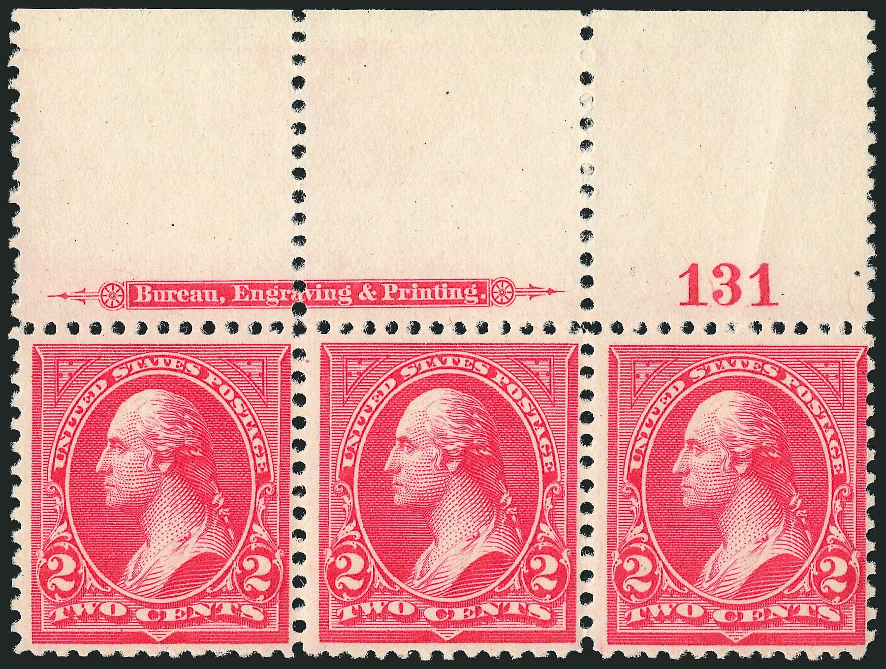 Value of US Stamps Scott Catalogue #251: 1894 2c Washington. Robert Siegel Auction Galleries, Jul 2014, Sale 1077, Lot 187