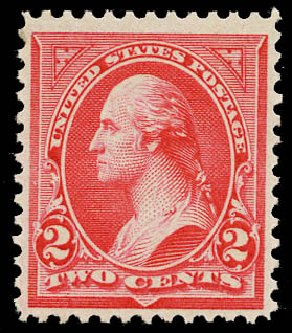 Cost of US Stamps Scott Catalogue #251: 2c 1894 Washington. Daniel Kelleher Auctions, May 2015, Sale 669, Lot 2768