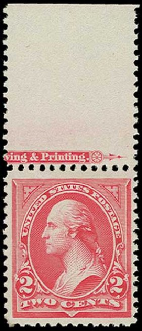 Prices of US Stamps Scott Catalogue #251: 2c 1894 Washington. H.R. Harmer, Jun 2015, Sale 3007, Lot 3260