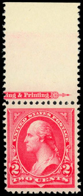 US Stamps Price Scott Cat. # 251 - 1894 2c Washington. Daniel Kelleher Auctions, Jan 2015, Sale 663, Lot 1511