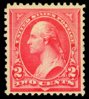 Value of US Stamps Scott # 251: 1894 2c Washington. Daniel Kelleher Auctions, Jan 2015, Sale 663, Lot 1512