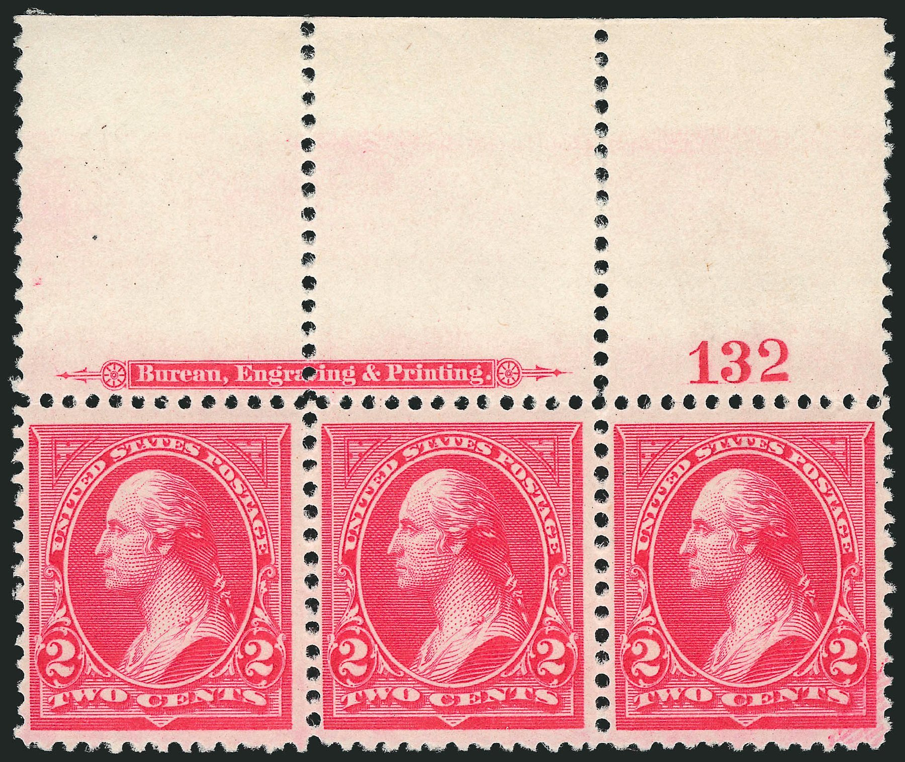 US Stamp Price Scott Catalog #251 - 1894 2c Washington. Robert Siegel Auction Galleries, Sep 2014, Sale 1078, Lot 383