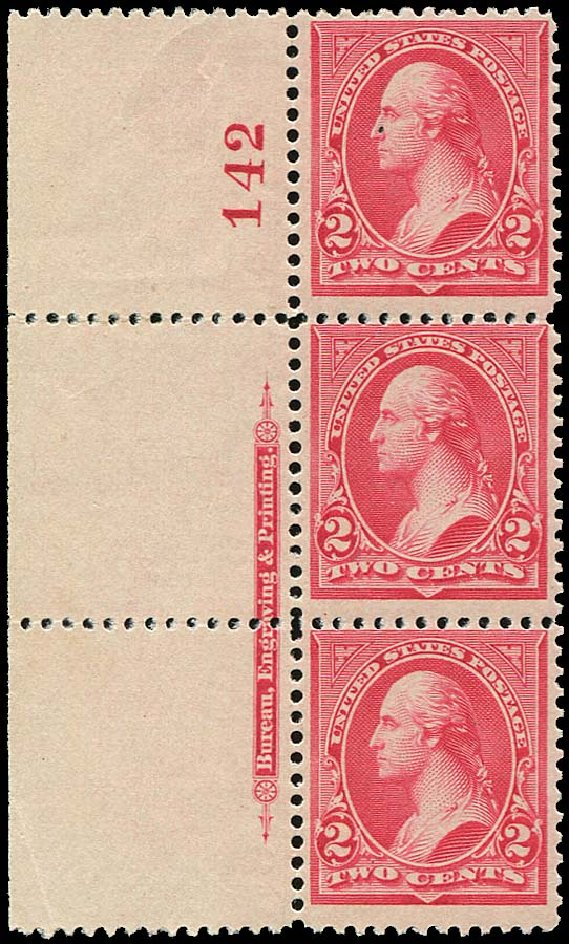 Price of US Stamp Scott Catalogue 252 - 2c 1894 Washington. Regency-Superior, Jan 2015, Sale 109, Lot 957