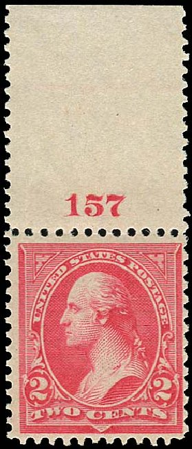 Values of US Stamp Scott Catalog 252: 1894 2c Washington. Regency-Superior, Jan 2015, Sale 109, Lot 958