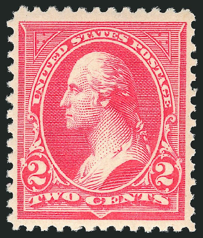 Cost of US Stamps Scott Cat. 252: 1894 2c Washington. Robert Siegel Auction Galleries, Apr 2015, Sale 1096, Lot 444
