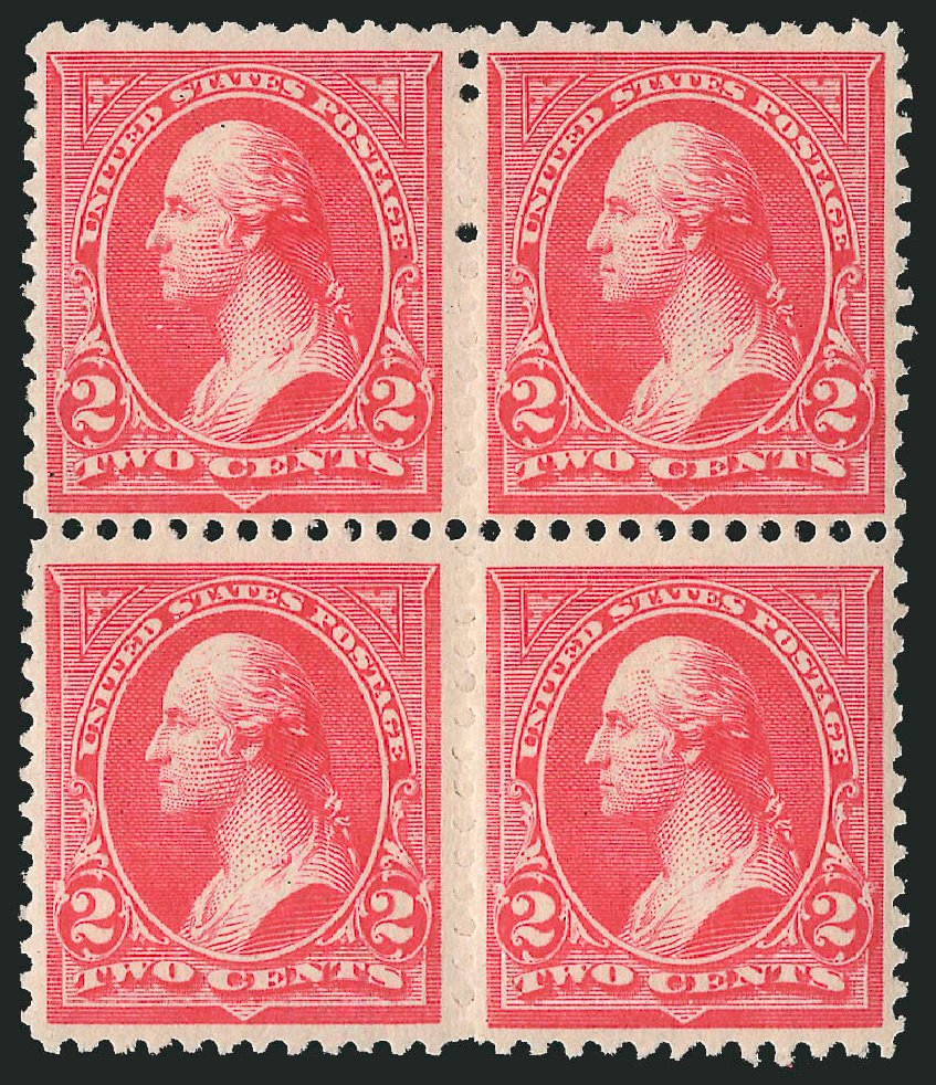 Cost of US Stamp Scott Cat. # 252: 2c 1894 Washington. Robert Siegel Auction Galleries, Apr 2015, Sale 1096, Lot 445