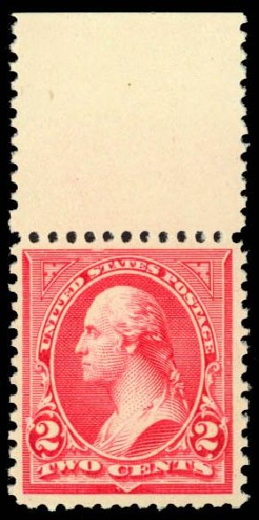 US Stamp Prices Scott Catalog #252: 1894 2c Washington. Daniel Kelleher Auctions, Dec 2014, Sale 661, Lot 222