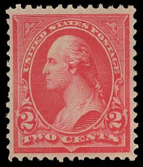 Costs Of US Stamp Scott Cat 252 1894 2c George Washington Bureau Page 3