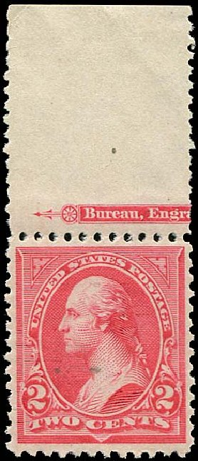 Values of US Stamp Scott Cat. # 252 - 1894 2c Washington. Regency-Superior, Aug 2015, Sale 112, Lot 493