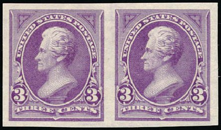 US Stamps Prices Scott Cat. # 253 - 3c 1894 Jackson. Schuyler J. Rumsey Philatelic Auctions, Apr 2015, Sale 60, Lot 2250