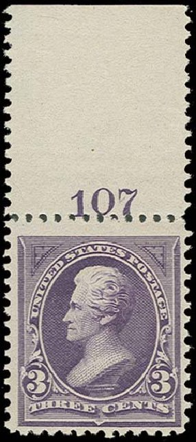 US Stamps Value Scott Cat. # 253 - 3c 1894 Jackson. H.R. Harmer, Oct 2014, Sale 3006, Lot 1282