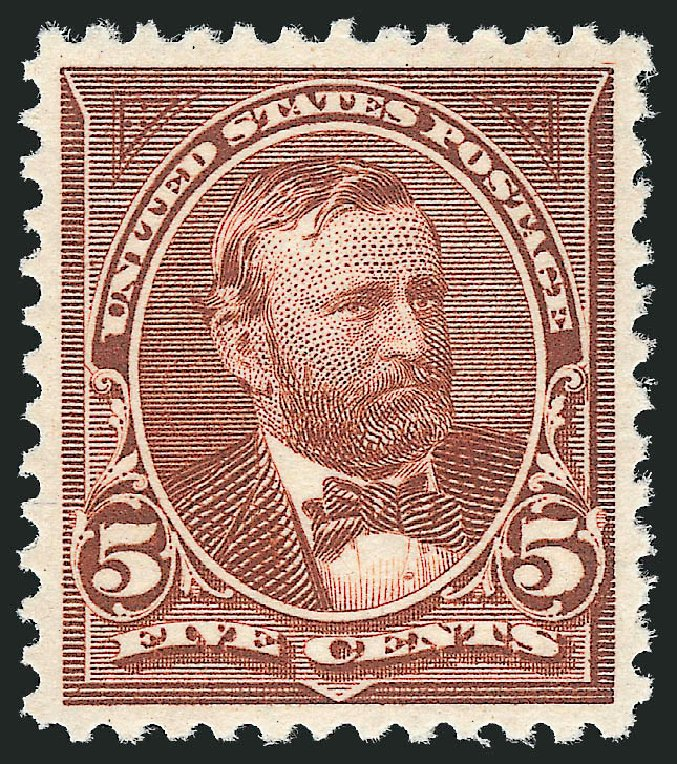 US Stamp Values Scott Cat. 255 - 1894 5c Grant. Robert Siegel Auction Galleries, Dec 2013, Sale 1062, Lot 439