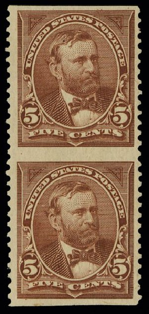 US Stamps Prices Scott # 255: 1894 5c Grant. H.R. Harmer, May 2014, Sale 3005, Lot 1191