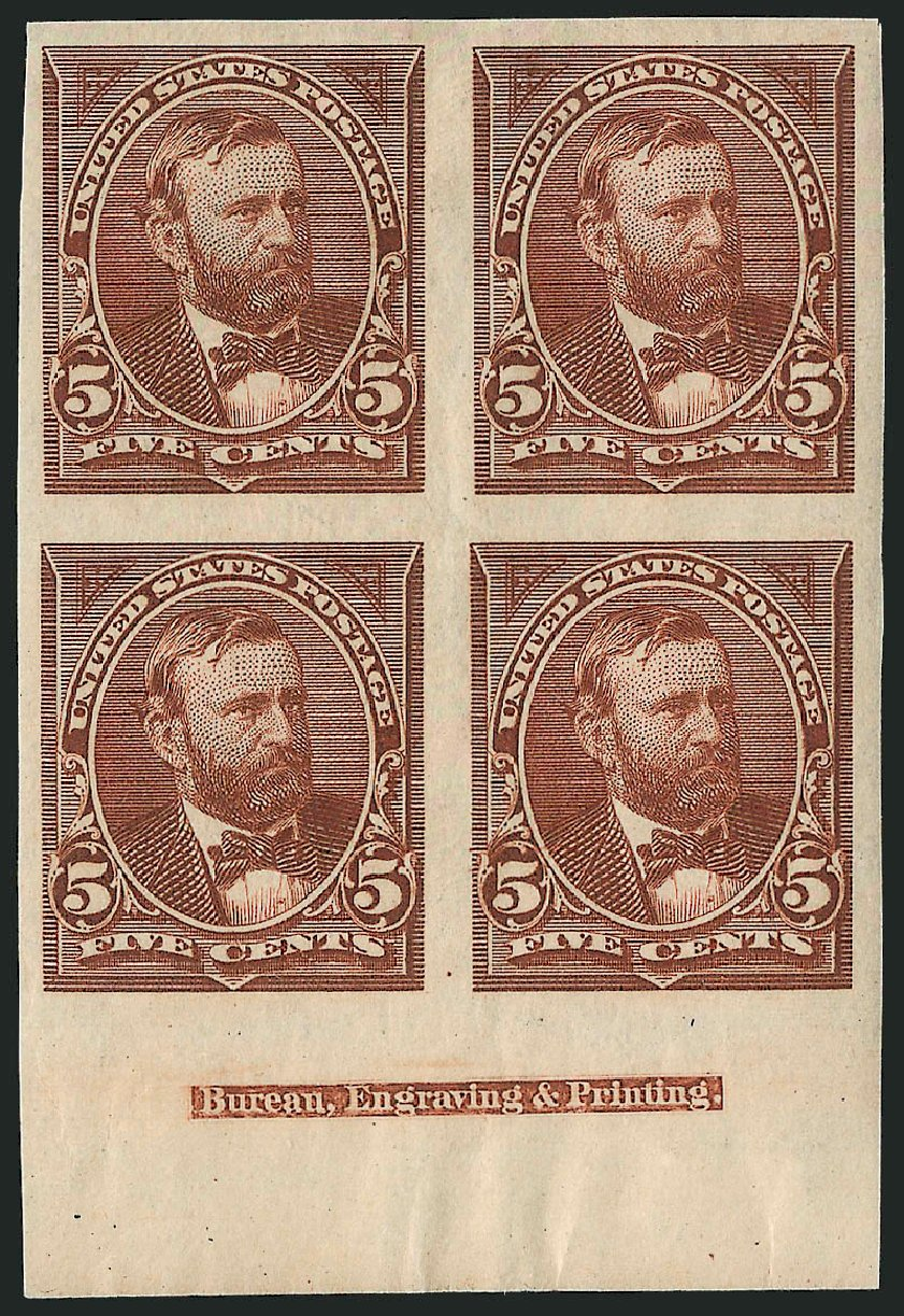 Costs of US Stamp Scott Cat. # 255: 5c 1894 Grant. Robert Siegel Auction Galleries, Dec 2012, Sale 1037, Lot 1871