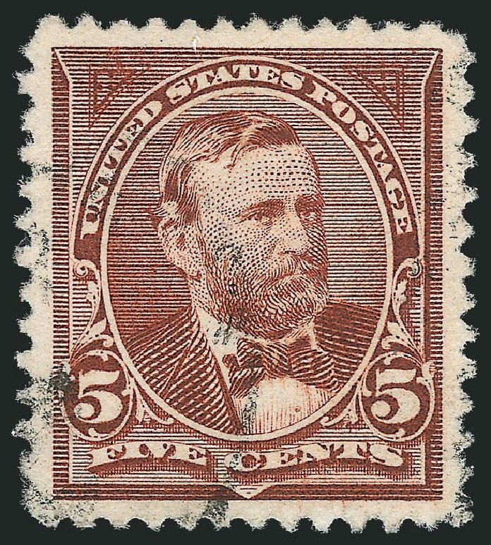 Values of US Stamp Scott Catalogue #255 - 5c 1894 Grant. Robert Siegel Auction Galleries, Nov 2014, Sale 1084, Lot 3571