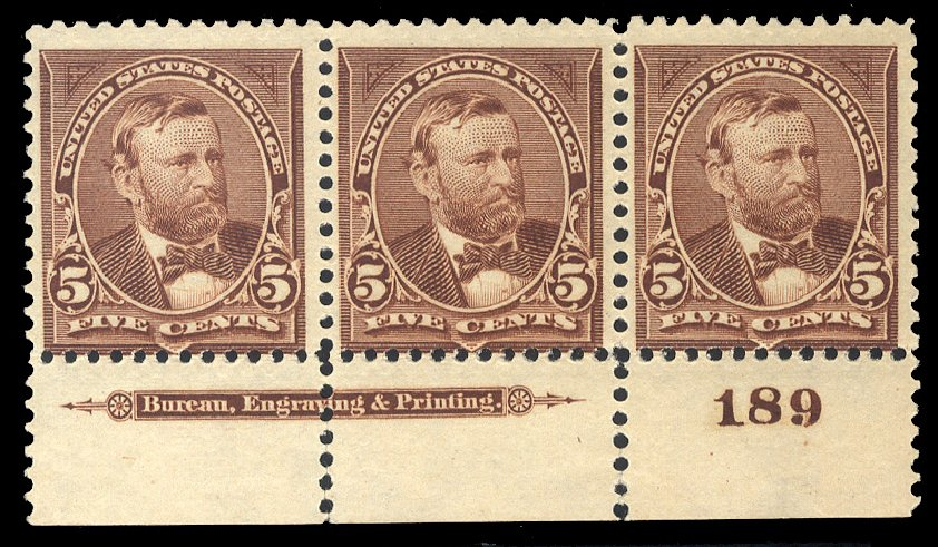 Price of US Stamp Scott Cat. #255 - 1894 5c Grant. Cherrystone Auctions, Mar 2014, Sale 201403, Lot 44