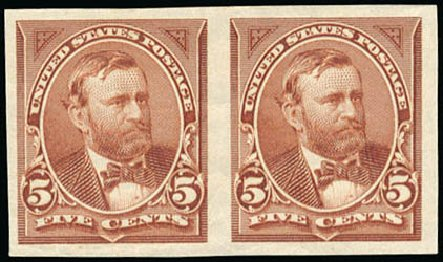 Prices of US Stamps Scott Cat. #255: 5c 1894 Grant. Schuyler J. Rumsey Philatelic Auctions, Apr 2015, Sale 60, Lot 2254