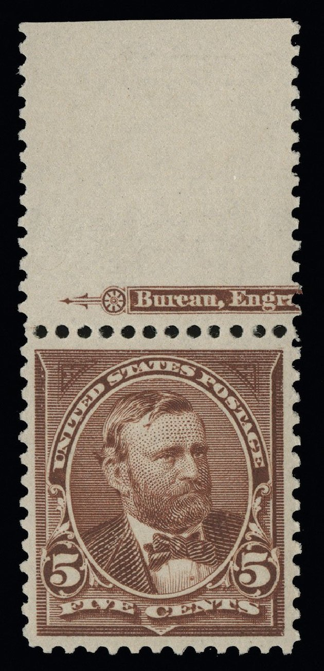 Costs of US Stamps Scott Catalog # 255: 5c 1894 Grant. Spink Shreves Galleries, Aug 2013, Sale 144, Lot 184