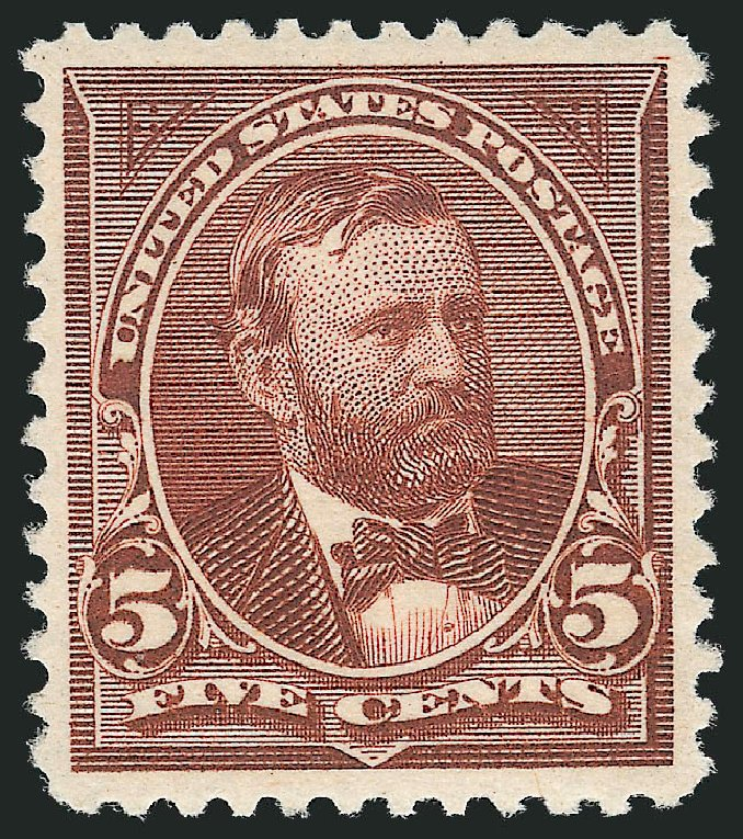 Price of US Stamp Scott # 255: 1894 5c Grant. Robert Siegel Auction Galleries, Nov 2012, Sale 1034, Lot 235