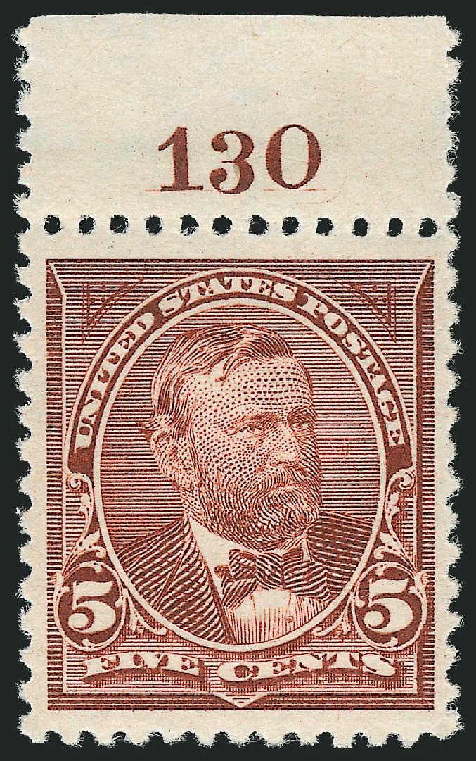 US Stamps Price Scott # 255 - 1894 5c Grant. Robert Siegel Auction Galleries, Mar 2013, Sale 1040, Lot 1565