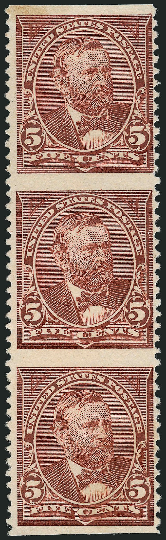 US Stamps Values Scott Cat. #255 - 5c 1894 Grant. Robert Siegel Auction Galleries, Dec 2012, Sale 1037, Lot 1872