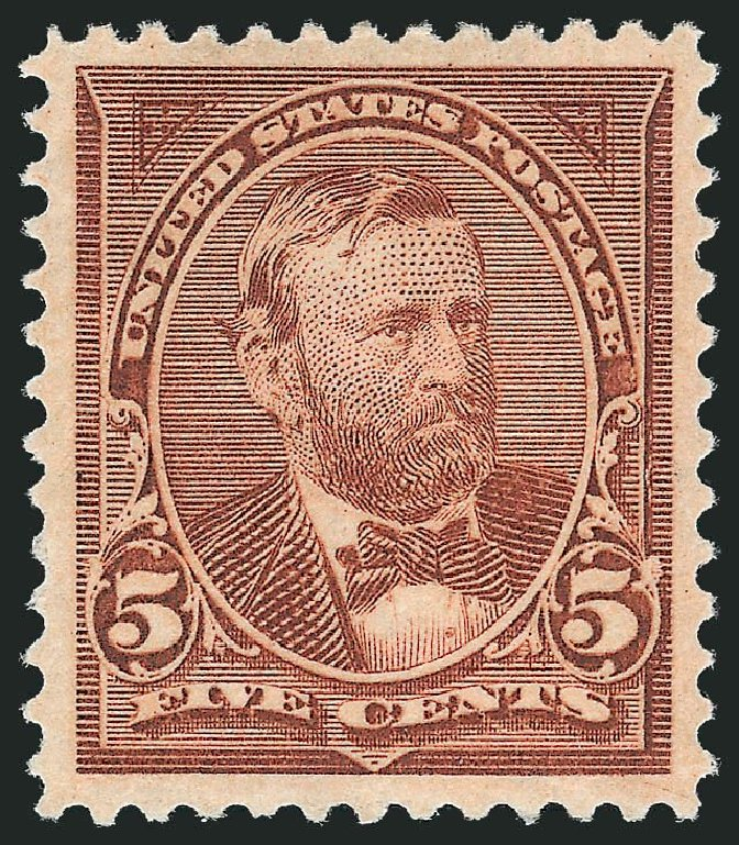 US Stamp Price Scott Catalog 255: 5c 1894 Grant. Robert Siegel Auction Galleries, Nov 2013, Sale 1057, Lot 842