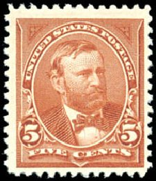 Price of US Stamps Scott Catalog #255 - 5c 1894 Grant. Schuyler J. Rumsey Philatelic Auctions, Apr 2015, Sale 60, Lot 2253