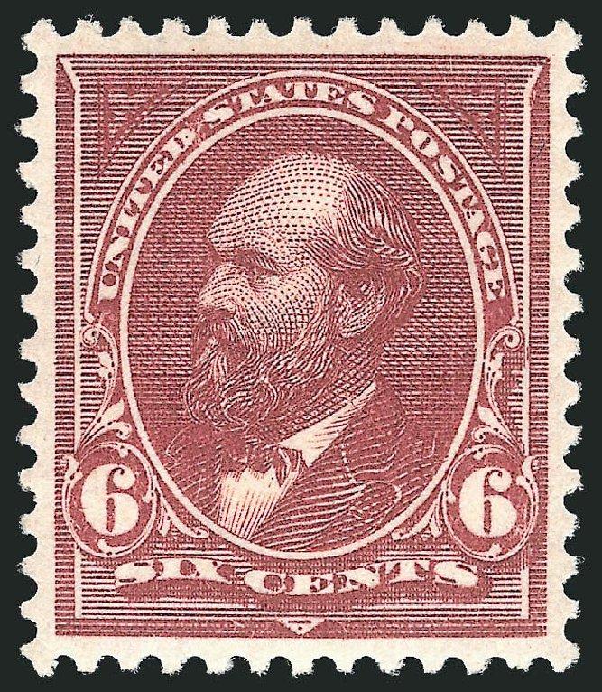 Costs of US Stamps Scott 256 - 1894 6c Garfield. Robert Siegel Auction Galleries, Apr 2014, Sale 1068, Lot 192