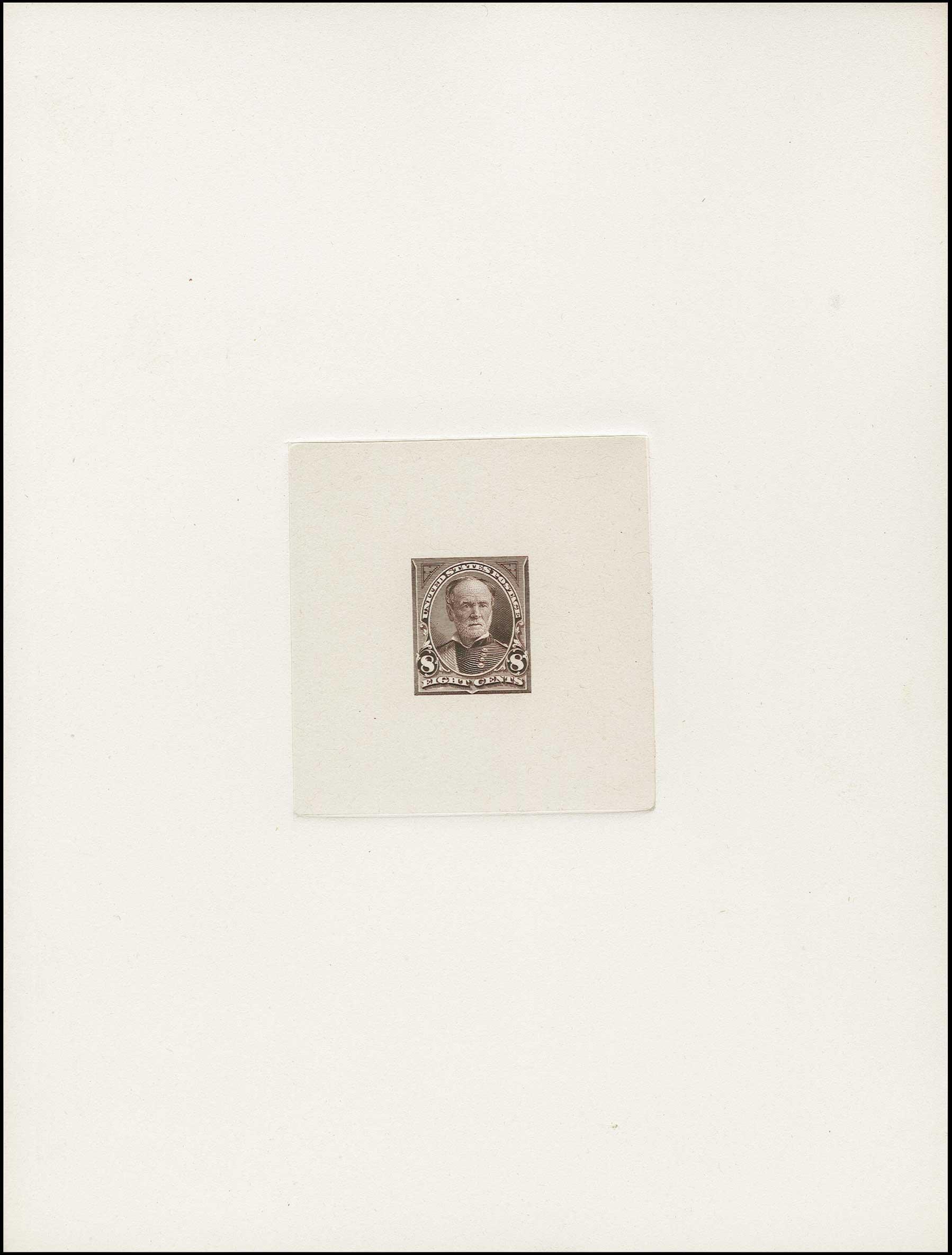 Prices of US Stamps Scott Cat. # 257 - 8c 1894 Sherman. H.R. Harmer, Jun 2015, Sale 3007, Lot 3056