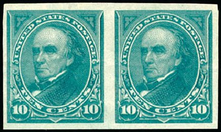Prices of US Stamps Scott Catalogue 258: 1894 10c Webster. Schuyler J. Rumsey Philatelic Auctions, Apr 2015, Sale 60, Lot 2256
