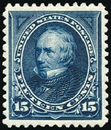 Prices of US Stamps Scott Catalogue #259 - 15c 1894 Clay. Schuyler J. Rumsey Philatelic Auctions, Apr 2015, Sale 60, Lot 2257