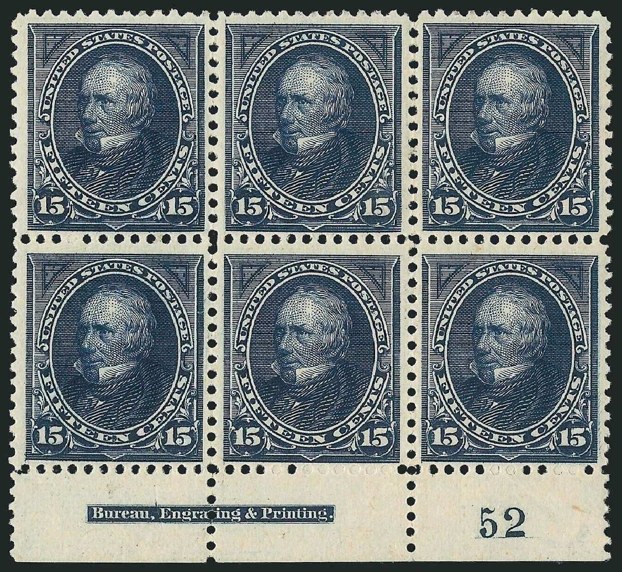 Price of US Stamp Scott Catalogue # 259: 1894 15c Clay. Robert Siegel Auction Galleries, Nov 2014, Sale 1084, Lot 3578
