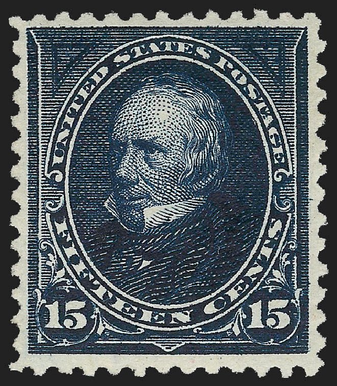 US Stamps Price Scott # 259 - 15c 1894 Clay. Robert Siegel Auction Galleries, Jul 2015, Sale 1107, Lot 349
