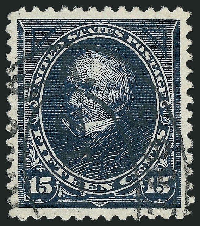 Value of US Stamps Scott Catalogue 259 - 15c 1894 Clay. Robert Siegel Auction Galleries, Nov 2014, Sale 1084, Lot 3581