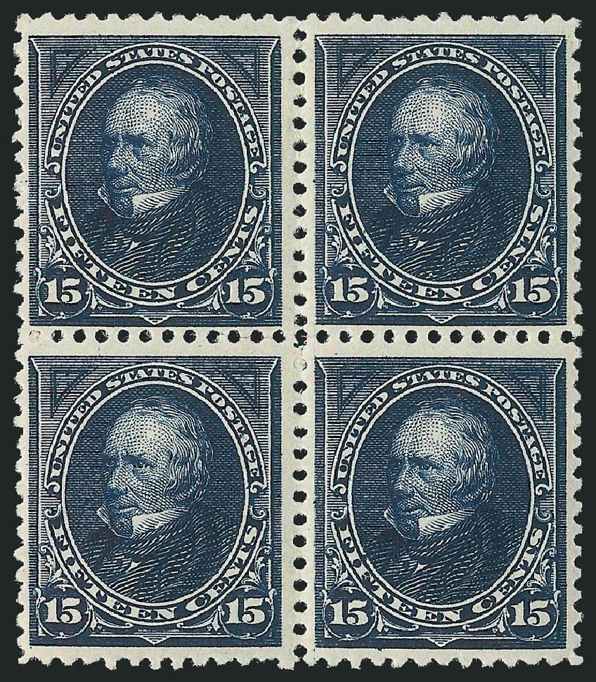 US Stamp Values Scott Cat. # 259 - 1894 15c Clay. Robert Siegel Auction Galleries, Apr 2015, Sale 1096, Lot 455